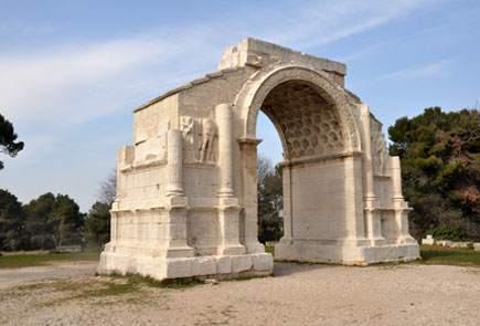 Site de Glanum - photo : rhinoferos